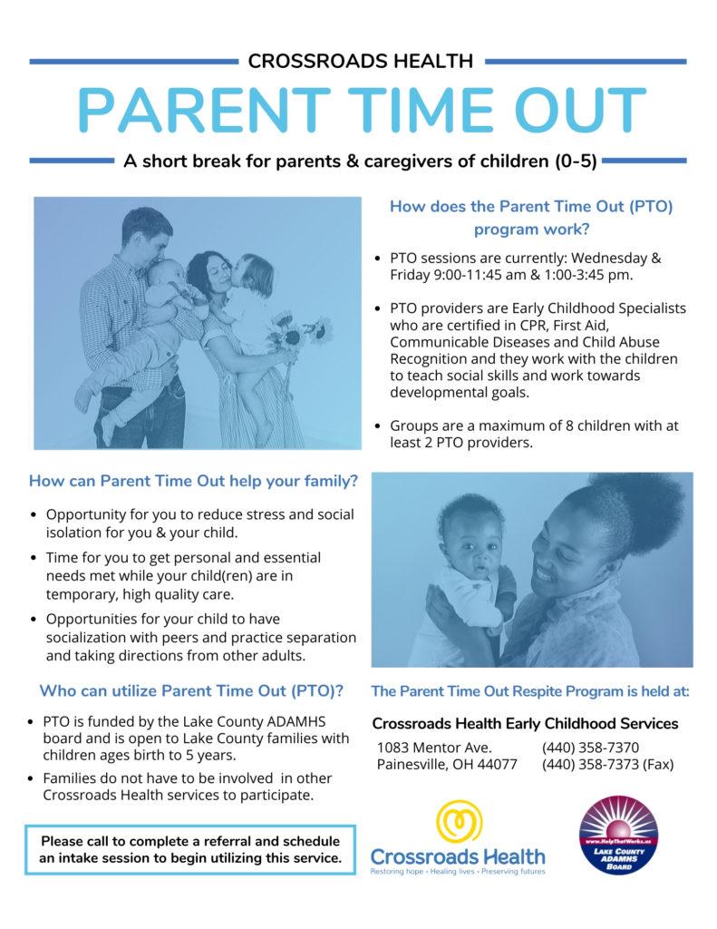 Parent Time Out Program